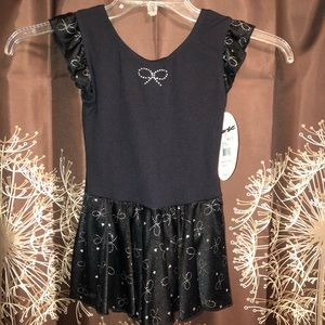 NWT Gymnastic Leotard Leo with attached Skirt 8/10